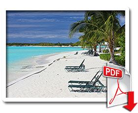 Spring Beach Paradise Fly In, beautiful Bahamian beach